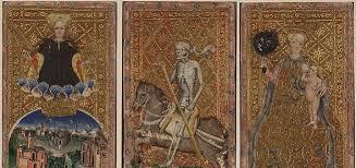 Resultado de imagen de imagen baraja antigua tarot