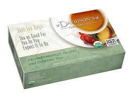 Davidson's <b>Organic</b> Tea <b>South African Rooibos</b>, 100-Count Tea ...