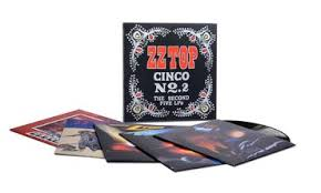 <b>ZZ Top</b> - <b>Cinco</b> No. 2 - The Second Five LPs - LPx5 – Rough Trade