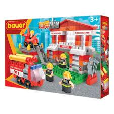 <b>Конструктор BAUER</b> 742 <b>Fireman</b> набор <b>Пожарная</b> часть ...