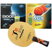 <b>Pro Table Tennis Combo</b> Racket: Galaxy YINHE T4s with Sun and ...
