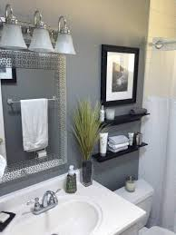 gray bathroom small