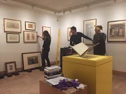 behind the scenes or nt by design the courtauld institute the exhibition starts the preparatory drawing for the frontispiece of the second edition of laugier s essay on architecture published in 1755