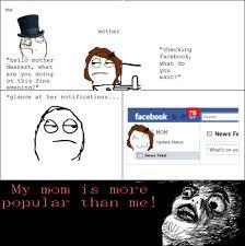 Meme Comic - Mom on Facebook via Relatably.com
