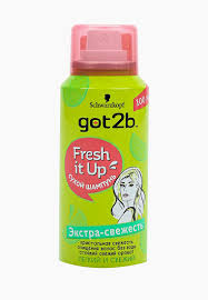 Сухой шампунь Got2B MINI Fresh it <b>Up</b>. Парфюмированный ...
