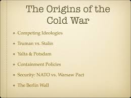 origins of the cold war essay home > chemistry > origins of the cold war by leffler