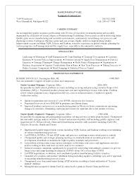 Example Resume  Good Resumes Objectives And Nice Simple Resume Objective  Good Resumes Objectives
