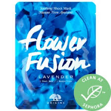 <b>Flower Fusion</b>™ Lavender Soothing Sheet Mask - <b>Origins</b> | Sephora