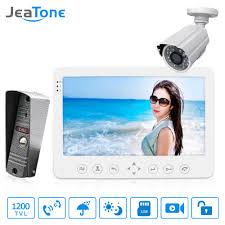 "Jeatone <b>4</b>"" <b>1200TVL</b> HD Audio Door Phone Wired Video <b>Home</b> ..."