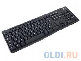 Беспроводная <b>клавиатура Logitech Wireless Keyboard</b> K270 Black ...