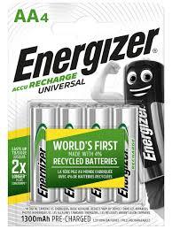 <b>Аккумулятор Energizer Universal</b> 1300 <b>NH15</b>/<b>AA</b>, 4 шт. Energizer ...