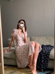 <b>Платье</b> Yasmine бежевое цветочный принт — <b>Botrois</b>