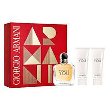 Armani Emporio Because Its You For Women 3 Piece ... - Amazon.com