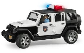 <b>Внедорожник Bruder Jeep</b> Wrangler Unlimited Rubicon Полиция, с ...