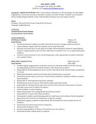 sample resume templates for social workers resume sample information sample resume example resume template for hospital social worker work experience sample resume