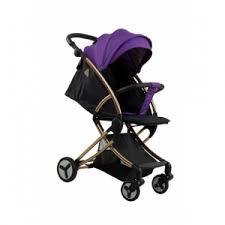 <b>Коляска прогулочная Aimile</b> Summer Gold purple-black