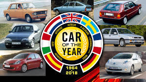 Every European Car Of The Year Winner Since 1964
