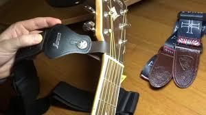 Обзор гитарных <b>ремней</b> и способов их крепления - YouTube