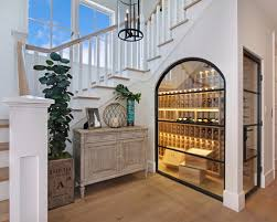 under stairs wine cellar home design photos chic minimalist wine cellar design decorated