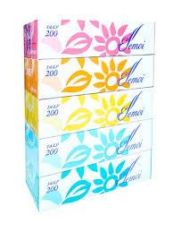<b>Бумажные</b> двухслойные <b>салфетки</b> ELLEMOI 200шт (спайка 5 ...