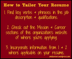 how to tailor your resume – peer into your careerhow to tailor your resume