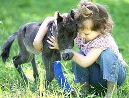 Image result for children with animals pictures