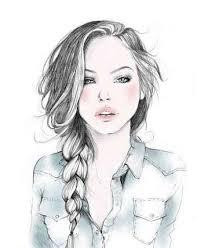 نتیجه تصویری برای عکس دختر نقاشی شده برای پروفایل تلگرام | عکس پروفایل دخترونه فانتزی زیبا جدید 96