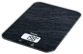 Купить Кухонные <b>весы Beurer KS 19</b> slate по низкой цене с ...