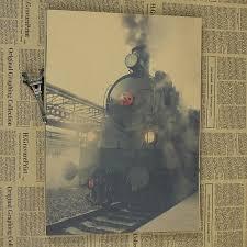 vintage decor clic: por vintage train art lots from