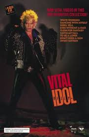 <b>Billy Idol</b>: <b>Vital</b> Poster (With images) | Billy idol, Vintage music ...