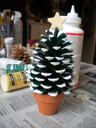 cheap christmas decor: cheap christmas decor pine cone tree cheap christmas decor