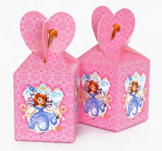 <b>6pcs</b>/lot Princess Sofia theme Cartoon paper bags <b>baby shower</b> ...