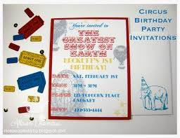 nice people stamp mds hybrid circus birthday party invitations i m so excited to finally share the invitations i made for my nephew s upcoming 1st birthday i m certain everyone has received their invites by now