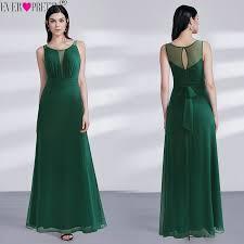 2019 Vestido Novia Ever Pretty EZ07477DG <b>Elegant Dark Green</b> A ...