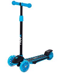 <b>Самокат 3</b>-<b>х колесный</b> RIDEX 3D Spike (120/100 мм), цвет: синий