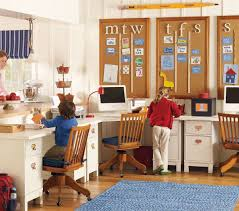 thats biege study twin kids study room