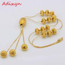 Adixyn <b>Gold</b> Pendants Necklaces <b>Fashion Jewelry</b> For Women ...