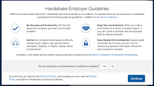employer guide to handshake texas a m university corpus christi email confirmation you will be taken to a confirmation page and you will shortly in 5 10 minutes receive a confirmation email to the email address