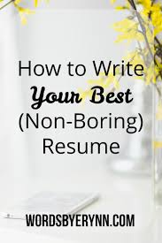Good Synonyms For Resumes Virtren Com