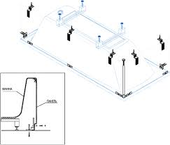 <b>Комплект креплений Cezares CZR-SCR-FIX-KIT</b> для экранов ...