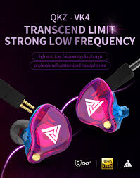 <b>QKZ VK4</b> ZST <b>Stereo</b> Wired Earphone In ear Headset Earbuds Bass ...