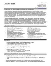 click here to download this project manager resume template  http    click here to download this construction project manager resume template  http