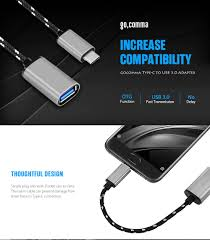 $0.99 with coupon for <b>Gocomma USB Type-C to</b> USB 3.0 Adapter ...