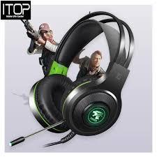 ITOP V5000 Magic Crystal <b>Game</b> Headphones <b>Head</b>-<b>Mounted 7.1</b> ...
