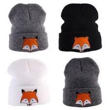 Beanies Hats & Caps Cute cartoon fox Toddler Kids Girl Boy ... - Vova