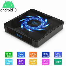 2020 NEW Internet <b>android</b> tv box <b>X96 X96Q Max</b> tv box <b>Android</b> 10 ...