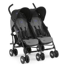 <b>Коляска</b> для двойни <b>Chicco Echo</b> Twin <b>Stroller</b> Coal — купить в ...