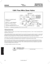 white rodgers hydronic & appliance 1361 103 hydronic zone controls White Rodgers 1361 Wiring Diagram also see for white rodgers 1361 103 hydronic zone controls white rodgers 1361 wiring diagram