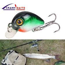 CRANK BAITS <b>Mini Crankbait Fishing Lure</b> Topwater Artificial Japan ...