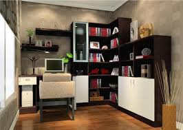 interior amazing book shelf for small office ideas with sweet picture side green tree on amazing small space office